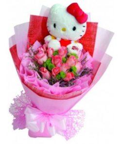 Bears & Plush bouquet