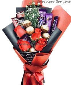 Chocolates & Snack Bouquet